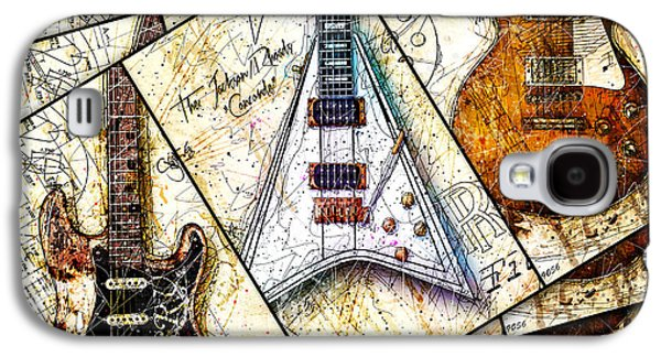 Iconic Guitars Panel 1 Galaxy S4 Case by Gary Bodnar
