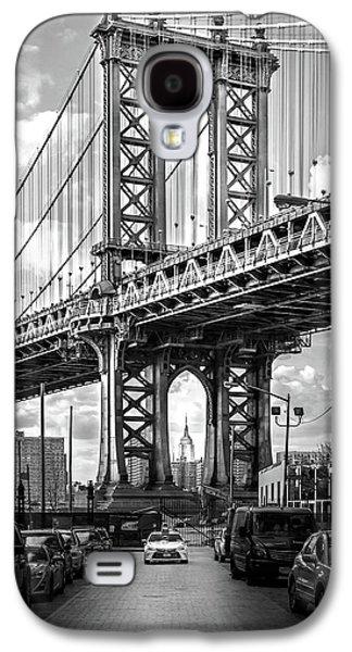Downtown Galaxy S4 Case - Iconic Manhattan Bw by Az Jackson