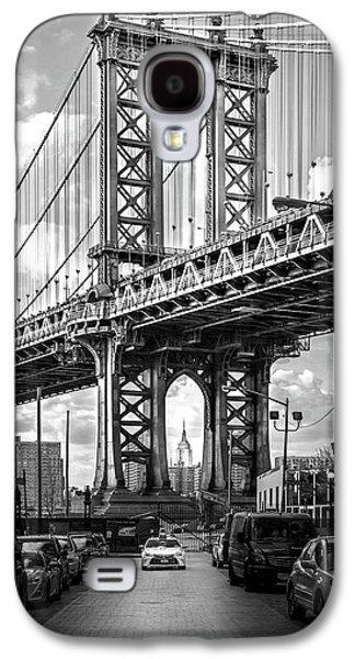 Bridges Galaxy S4 Case - Iconic Manhattan Bw by Az Jackson