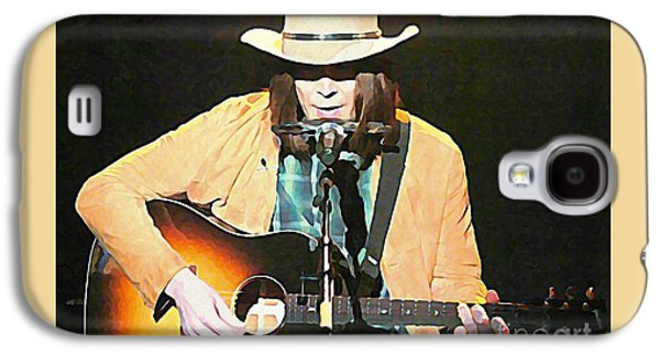 Iconic Neil Young Galaxy S4 Case by John Malone