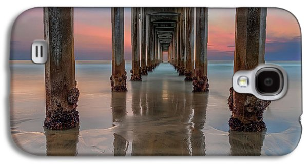Iconic Scripps Pier Galaxy S4 Case by Larry Marshall