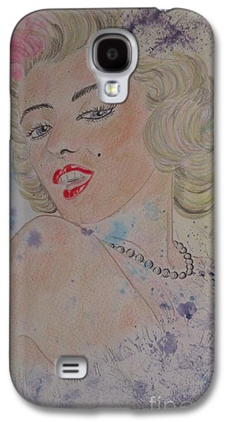 Iconic Women.marilyn Munroe Galaxy S4 Case by Ger Ryan