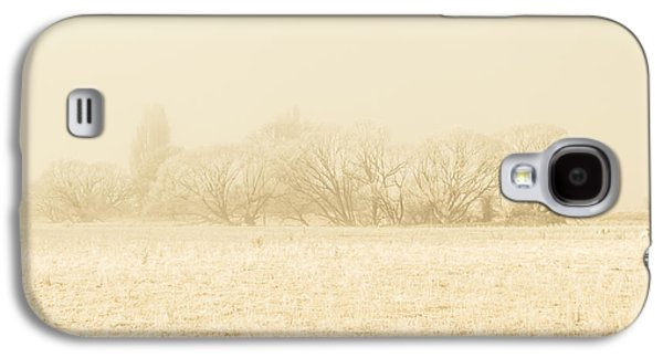 Icy Cold Foggy Woodland Galaxy S4 Case by Jorgo Photography - Wall Art Gallery