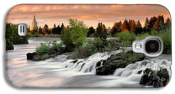 Idaho Falls Galaxy S4 Case by Leland D Howard