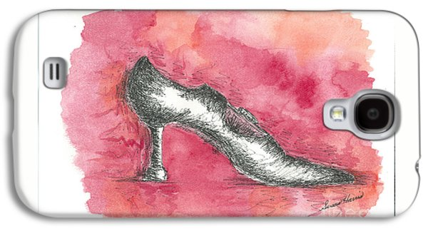 If The Shoe Fits Galaxy S4 Case by Susan Harris