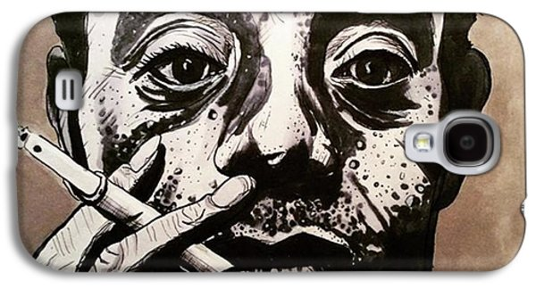 Galaxy S4 Case - James Baldwin by Russell Boyle