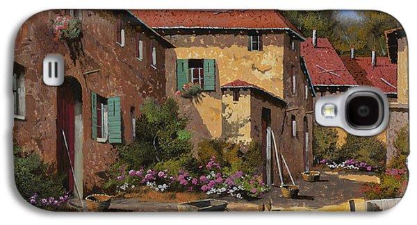 Rural Scenes Galaxy S4 Case - Il Carretto by Guido Borelli