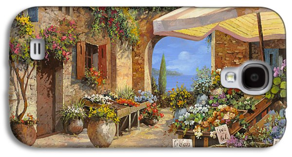 Vegetables Galaxy S4 Case - Il Mercato Del Lago by Guido Borelli
