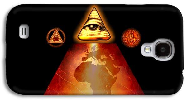 Illuminati World By Pierre Blanchard Galaxy S4 Case