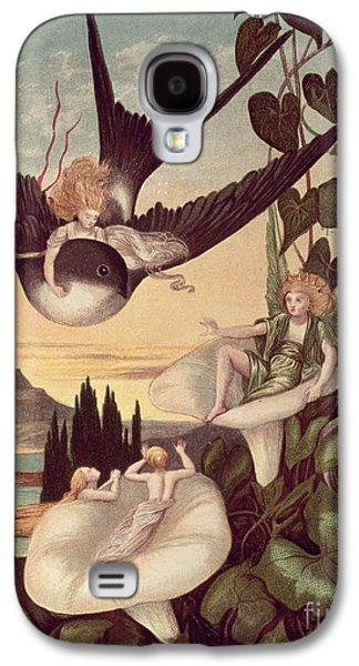 Swallow Galaxy S4 Case - Illustration To 'thumbkinetta' by Eleanor Vere Boyle and Hans Christian Andersen