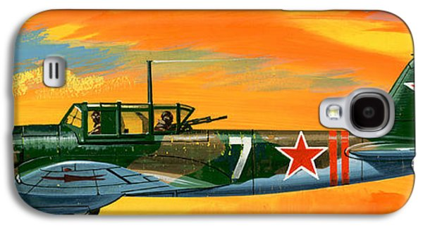 Ilyushin II 2m3 Russian Ground Attack Aircraft Galaxy S4 Case by Wilf Hardy