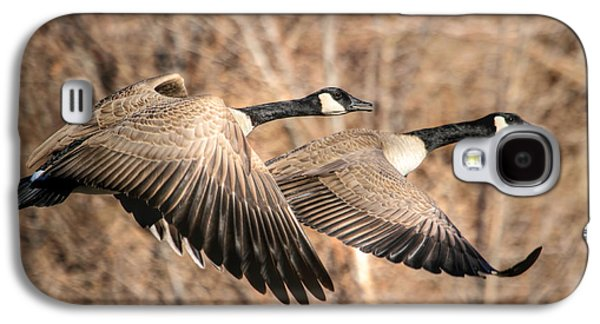 Geese Galaxy S4 Case - I'm Right Behind Ya by Donna Kennedy
