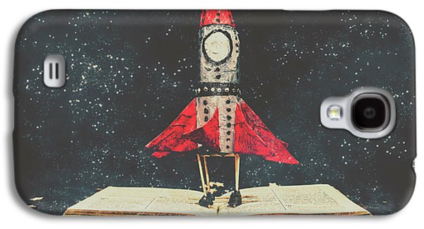 Imagination Is A Space Of Learning Fun Galaxy S4 Case