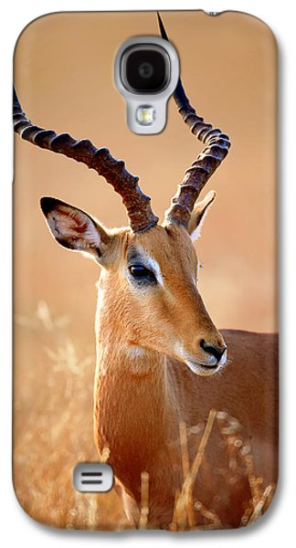 Impala Male Portrait Galaxy S4 Case