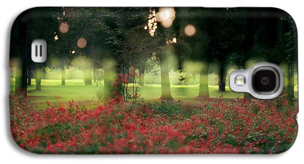 Galaxy S4 Case featuring the photograph Impression At The Yarkon Park by Dubi Roman
