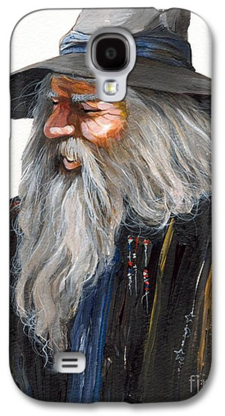 Impressionist Wizard Galaxy S4 Case by J W Baker