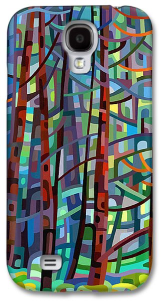 In A Pine Forest Galaxy S4 Case by Mandy Budan