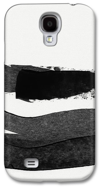 In Between Stage- Abstract Art By Linda Woods Galaxy S4 Case by Linda Woods