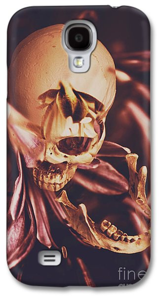 Orchid Galaxy S4 Case - In Contrasts Of Soul Growth by Jorgo Photography - Wall Art Gallery