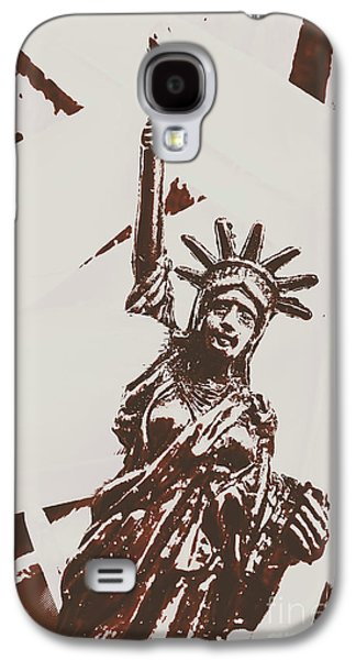 In Liberty Of New York Galaxy S4 Case by Jorgo Photography - Wall Art Gallery
