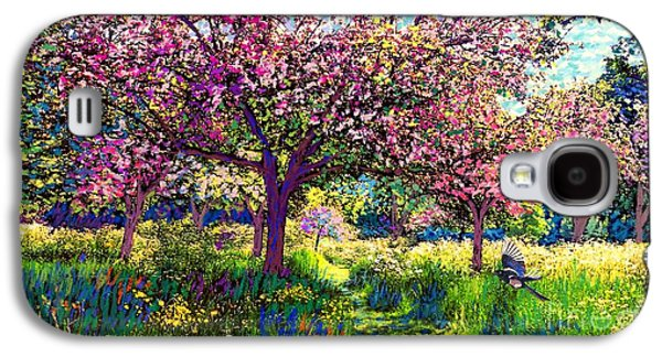 Daisy Galaxy S4 Case - In Love With Spring, Blossom Trees by Jane Small