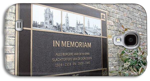 In Memoriam - Ypres Galaxy S4 Case