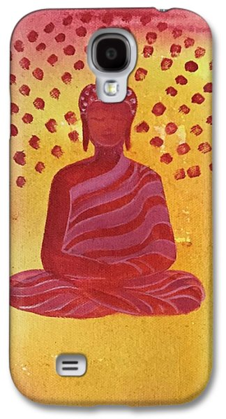 In Search Of Life - Lord Buddha Galaxy S4 Case by Nayna Tuli Fineart