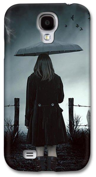 In The Dark Galaxy S4 Case by Joana Kruse