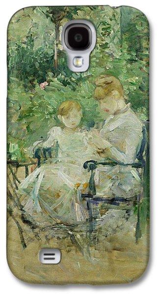 In The Garden Galaxy S4 Case by Berthe Morisot