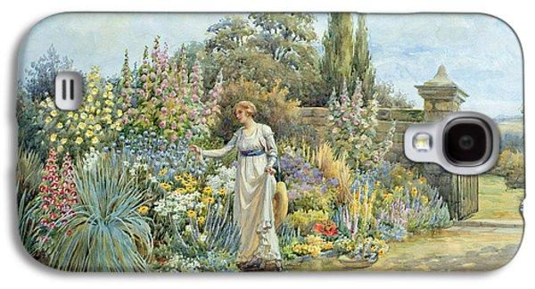 In The Garden Galaxy S4 Case by William Ashburner