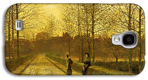 In The Golden Gloaming Galaxy S4 Case by John Atkinson Grimshaw