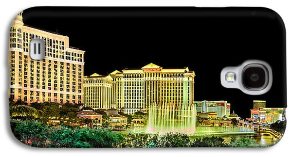 In The Heart Of Vegas Galaxy S4 Case by Az Jackson