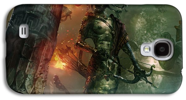 Gorgon Galaxy S4 Case - In The Lair Of The Gorgon by Ryan Barger