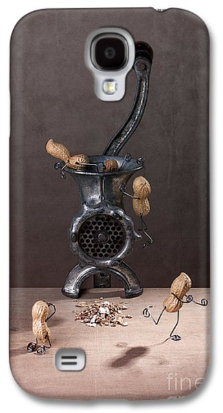 Bizarre Galaxy S4 Cases - In the Meat Grinder 01 Galaxy S4 Case by Nailia Schwarz