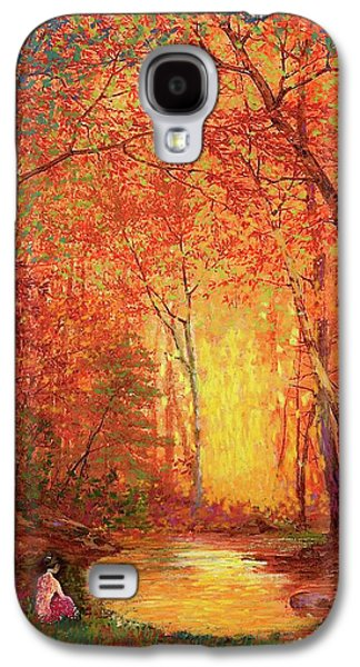 Fall Scenes Galaxy S4 Case - In The Presence Of Light Meditation by Jane Small