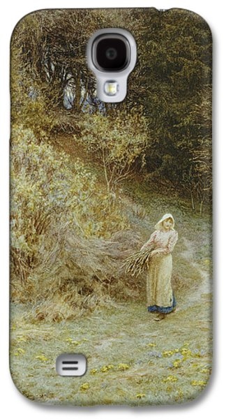In The Primrose Wood Galaxy S4 Case by Helen Allingham