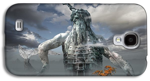 Inadvertent Metamorphosis Or King Of My Castle Galaxy S4 Case by George Grie