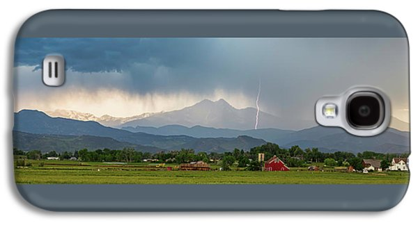 Galaxy S4 Case featuring the photograph Incoming Storm Panorama View by James BO Insogna