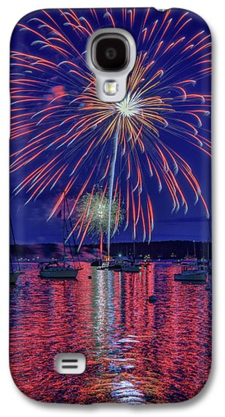 Independence Day In Boothbay Harbor Galaxy S4 Case