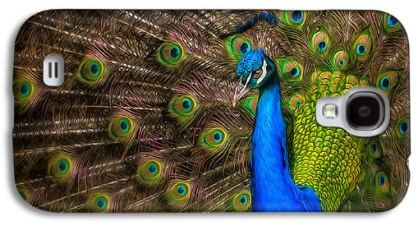 Galaxy S4 Case featuring the photograph India Blue by Rikk Flohr