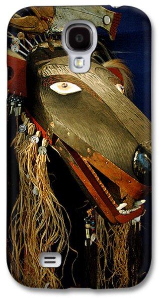 Indian Animal Mask Galaxy S4 Case by LeeAnn McLaneGoetz McLaneGoetzStudioLLCcom