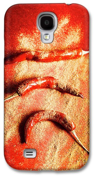 Indian Food Seasoning And Spices Galaxy S4 Case by Jorgo Photography - Wall Art Gallery