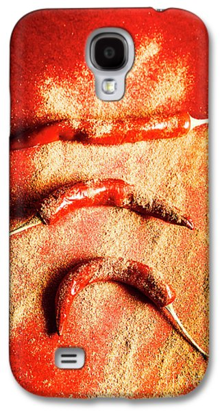 Indian Food Seasoning And Spices Galaxy S4 Case