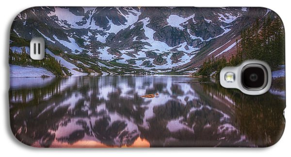 Indian Peaks Reflection Galaxy S4 Case