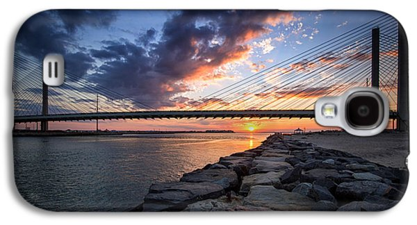 Indian River Inlet And Bay Sunset Galaxy S4 Case