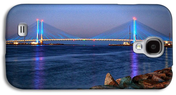Indian River Inlet Bridge Twilight Galaxy S4 Case