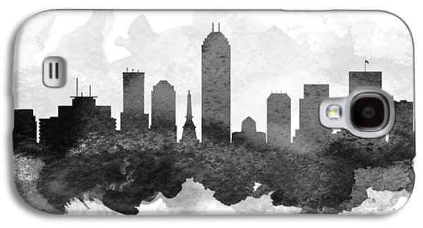 Indianapolis Cityscape 11 Galaxy S4 Case by Aged Pixel