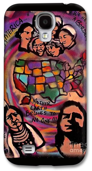 Indigenous America 101 Galaxy S4 Case by Tony B Conscious