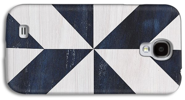 Indigo And Blue Quilt Galaxy S4 Case by Debbie DeWitt