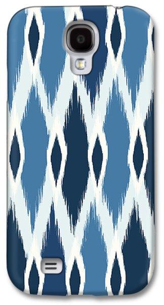 Indigo Ikat Galaxy S4 Case by Arte Flora Design Studio
